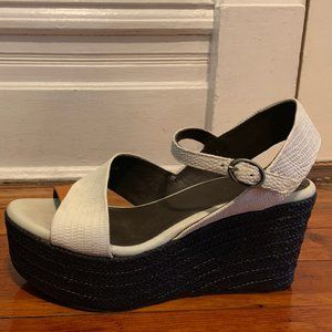COCLICO Espadrille Wedge Sandals